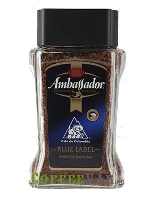 Кофе Ambassador Растворимый Blue Label 95 гр