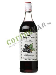 Сироп Royal Cane Ежевика 1 л