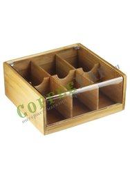 Коробка для чайных пакетиков 22*21 см (610998)