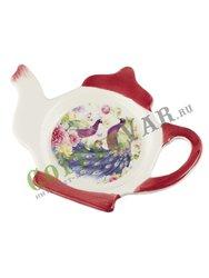 Подставка под чайные пакетики Павлины (358-1063)