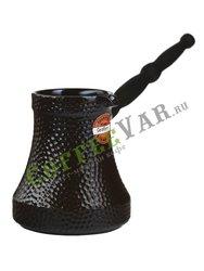 Турка керамическая Ceraflame Ibriks Hammered шоколадный цвет 500 мл (D9425)
