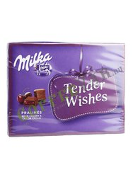 Milka Tender Wishes коробка шоколадных конфет Tender Wishes 110 гр
