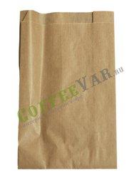 Пакет бумажный, плоское дно, 38 г Крафт 140*60*250 (2500шт)