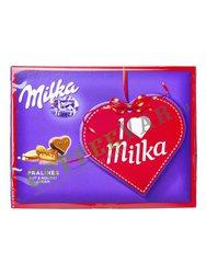 Шоколадные конфеты Milka I Love 110 гр