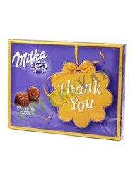 Шоколадные конфеты Milka Thank You 120 гр