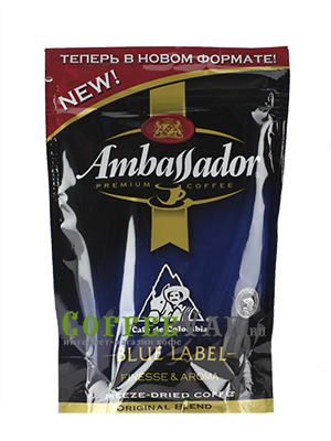 Кофе Ambassador Растворимый Blue Label 75 гр