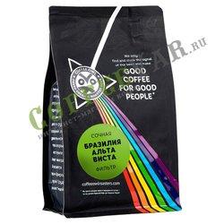 Кофе Owl в зернах Сочная Бразилия Альта Виста 200 г