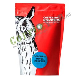 Кофе Owl в зернах Colombia Minga Caucana 200 г