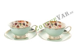 Чайный набор Lefard на 2 персоны, 4 предмета 200 мл