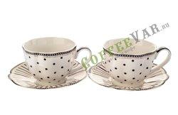 Чайный набор Lefard на 2 персону, 4 предмета 250 мл (275-953)