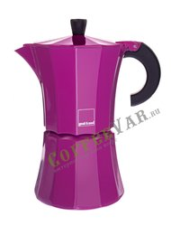 Гейзерная кофеварка Morosina на 6 чашек (300мл) Фуксия