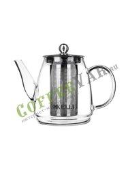 Чайник заварочный Kelly KL-3098 стекло  0,6 л