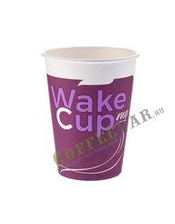 Стакан Формация однослойный, Wake Me Cup 300 мл (50 шт)