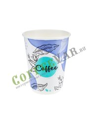 Стакан бумажный Паперскоп Coffee Pastel Thermo 300 мл D80 (20 шт)
