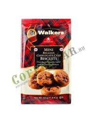 Мини-Печенье Walkers c Бельгийским шоколадом 125 г