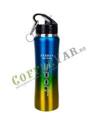 Термобутылка для спорта Zeidan стальная 750 мл Z-9074