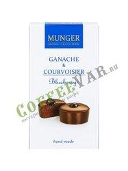 Шоколад D.Munger Ганаш с коньяком и черникой 50 г