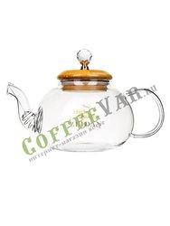 Чайник заварочный Zeidan Z-4306 стекло, бамбук 1000 мл