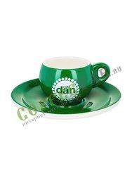 Чашка Danesi эспрессо 50 мл (зеленая)