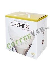 Chemex Кемекс Фильтр бумажный, квадратный  FS-100 (1уп.-100шт)