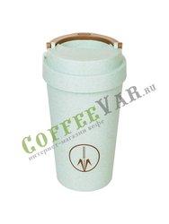 Термокружка голубая Walmer Eco Cup 400 мл