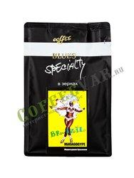 Кофе Блюз Марагоджип Бразилия в зернах 200 г