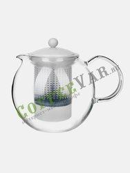 Чайник заварочный стеклянный Bodum Assam с прессом 1 л белый (1830-913)