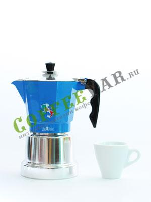 Гейзерная кофеварка Top Moka 150 Italian Republic 6 порции (240 мл)