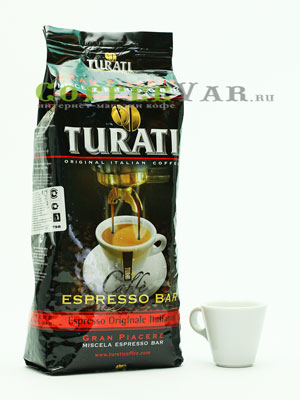 Кофе Turati в зернах Gran Piacere Espresso Bar 1 кг