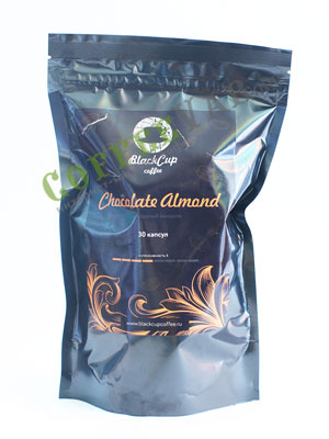 Кофе BlackCup в капсулах Chocolate almond