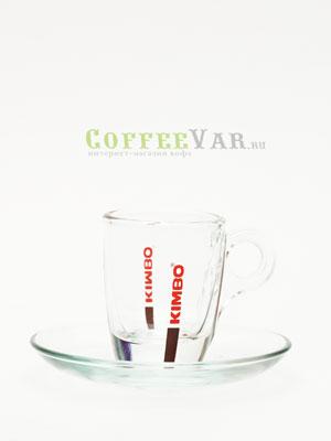 Чашка Kimbo для эспрессо стекло