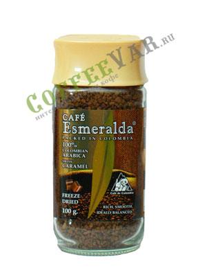 Кофе Cafe Esmeralda растворимый Швейцарская Карамель 100гр