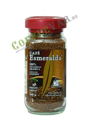 Кофе Cafe Esmeralda растворимый Японская Вишня 100 гр