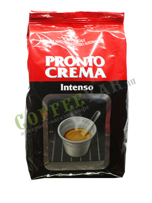 Кофе Lavazza в зернах Pronto Crema Intenso 1 кг в.у.