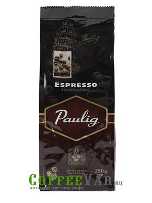 Кофе Paulig в зернах Espresso Fortissimo 250 гр