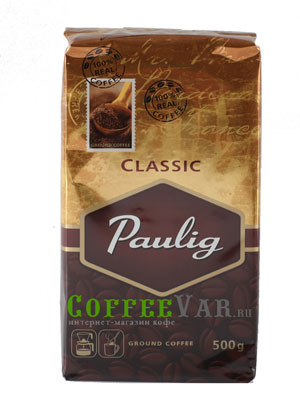 Кофе Paulig молотый Classic 500гр