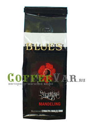 Кофе Блюз в зернах Суматра Манделинг 200 гр