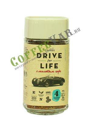 Живой кофе растворимый Drive For Life 100 гр с.б.