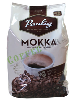 Кофе Paulig в зернах Mokka 1 кг