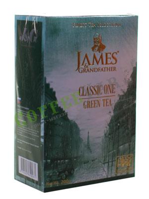 Чай James Grandfather Greentea. Зеленый, 200 гр