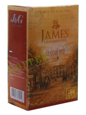 Чай James Grandfather FBOP. Черный, 100 гр