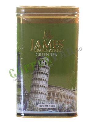 Чай James Grandfather Sencha. Зеленый, ж.б. 150 гр