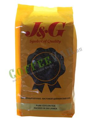 Чай James Grandfather OPA Soft Pouch. Черный, 400 гр