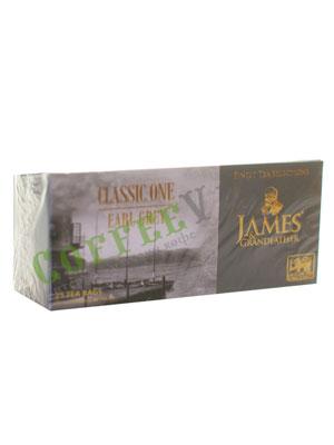 Чай James Grandfather BTEGDCS&T. Черный, Бергамот Пакетик, 25 шт