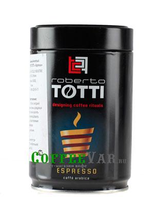 Кофе Totti Молотый Espresso (ж.б.)