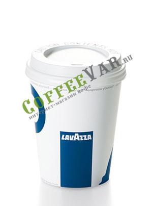 Lavazza чашка одноразовая с крышкой американо 420 мл