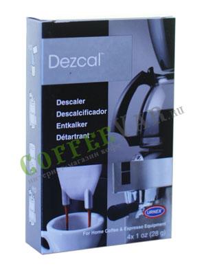 Urnex Dezcal Порошок для удаления накипи  для кофемашин 1 пакетик 28 гр