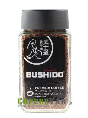 Кофе Bushido растворимый Black Katana 50 гр (ст.б.)