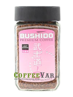 Кофе Bushido растворимый Light Katana 100 гр (ст.б.)