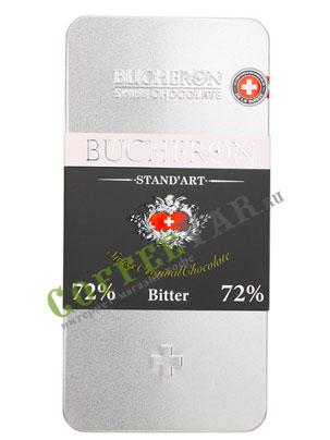Шоколад Buсheron горький 100 гр в ж.б
